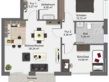 Alle 17 Sekunden verliebt sich jemand in diese Wohnung! Hochwertige Neubau-Erdgeschosswohnung in...
