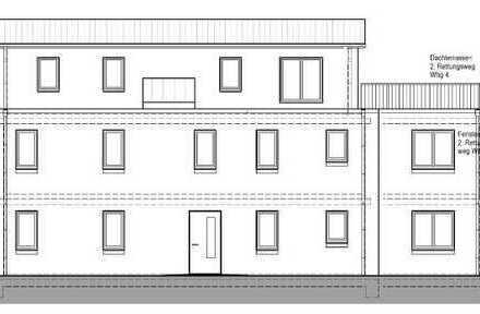 Grundstück mit Baugehnehmigung und Planung