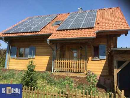 Niedrigenergie Holzhaus- ökologisches und allergikerfreundliches Wohnen in ruhiger Siedlungsrandlage