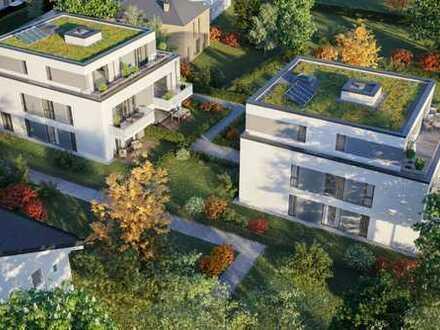 Lichtdurchflutet leben mit Westbalkon zum rückwärtigen Garten