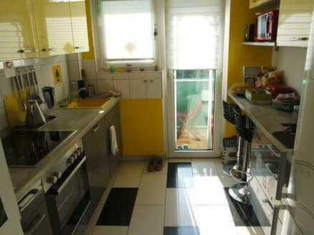 Schöne 3-Zimmer-Wohnung mit drei Balkonen und Einbauküche in Mannheim - Neuostheim