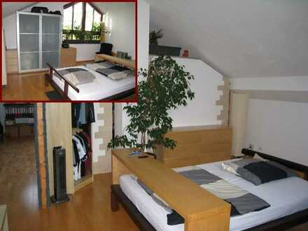 PLATZ WUNDER für Singles ! Studio mit ca. 80m² + Einbauküche + Gäste WC im Himmelreich von Dachau