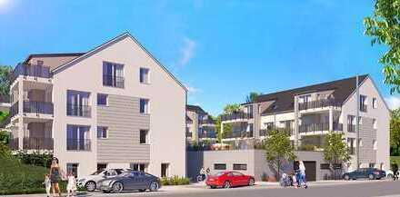 ETW 12/Haus B * Moderne 3-Zi-Neubauwohnung mit Sonnenterrasse und Gartenanteil