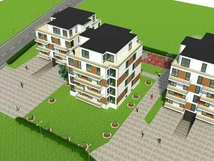 Leben und Wohlfühlen am Fronhof Neubau von 25 barrierefreien Stadtvillen-Wohnungen
