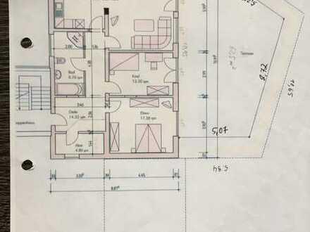 Sanierte 4ZKB -Wohnung UG mit Terrasse und Keller in Langenlonsheim