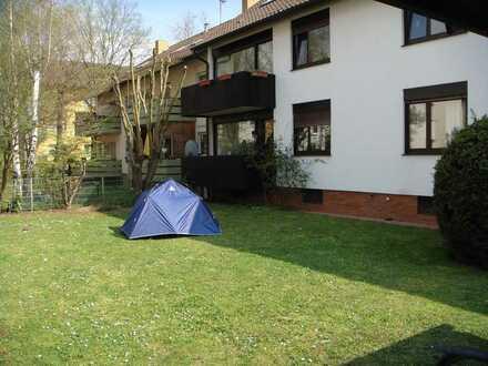 Heidelberg-Kirchheim, 2-Zimmer Wohnung mit Balkon im EG