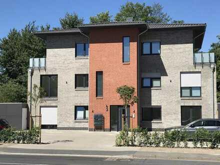 Moderne Wohnung im Obergeschoss im KfW-55-Haus mit Fahrstuhl auf 85 m² Wohnfläche