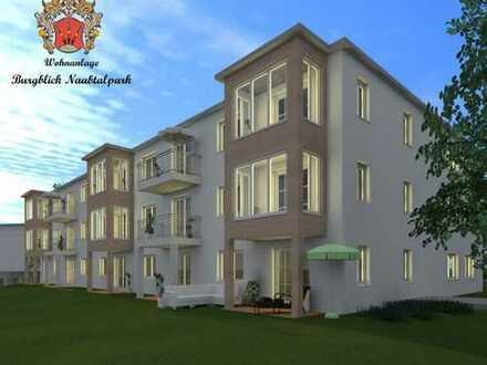 Neubau: 2-Zimmer-Erdgeschosswohnung mit Terrasse (WE 1.4)