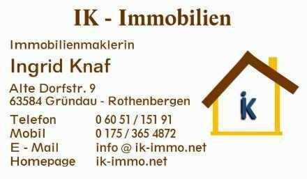 Gemütliche 2-Zimmer-EG-Wohnung in Nidderau-Windecken für max 2 Personen