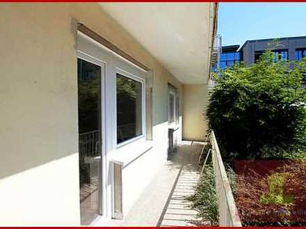3-Zimmer Erdgeschosswohnung im Zentrum/Nähe Fussgängerzone Wohnung mit Balkon und Garage.