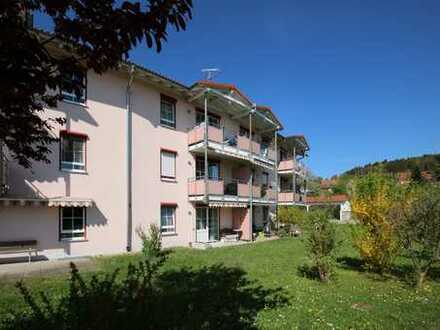 Betreutes Wohnen - 2-Zimmerwohnung in Haldenwang mit Bergblick