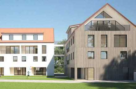 4 Zi-ETW mit eigenem Eingang im Reihenhausstil EG u OG, mit Garten, Baubeg. 1.Q 2020, Haus A Wo 0.1