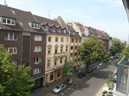 Weit oben im Trendviertel von Bilk/Unterbilk, möbliert -furnished-
