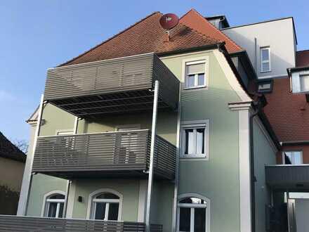 Erstbezug mit EBK und Balkon: gemütliche, gehobene 2-Zimmer-Wohnung in Oettingen