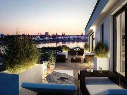 Wohntraum! 3-Zimmer-Wohnung mit tollem Grundriss, zwei Tageslichtbädern und Einbauküche