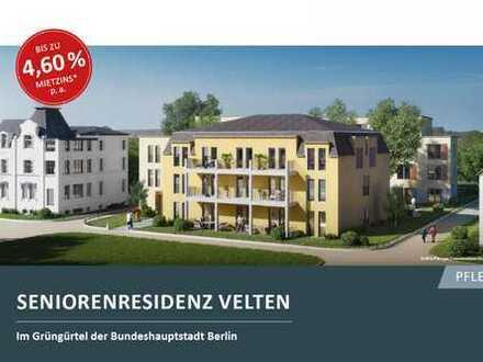 Neubau-Appartement in der Seniorenresidenz Velten mit Top-Rendite