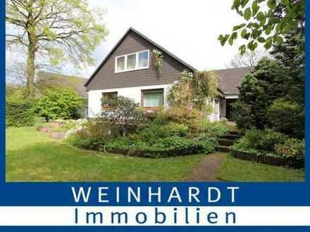 Geräumiges Einfamilienhaus in Sackgassenlage am schönen Wohldorfer Wald