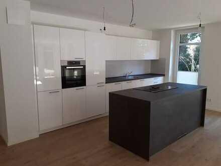 Erstbezug: ruhige 3-Zimmer-Erdgeschoßwohnung, Einbauküche und Süd-Terrasse in Flensburg-Mürwik