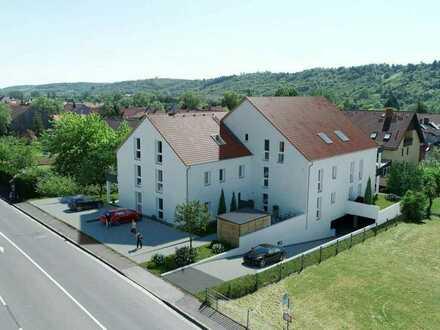 Erstbezug: exklusive 2-Zimmer-EG-Wohnung mit Terrasse in Eibelstadt