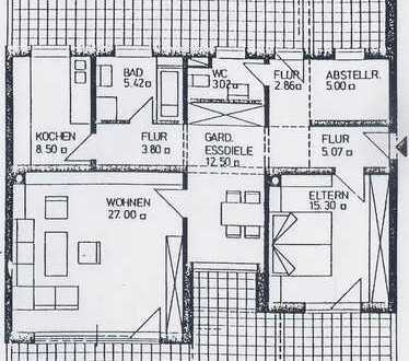 Attraktive 2,5-Zimmer-Penthouse-Wohnung mit 2 Balkonen und Einbauküche in Neusäß Schmutterpark