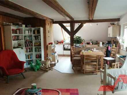 5-Zimmer-Maisonette-Altbauwohnung zu vermieten