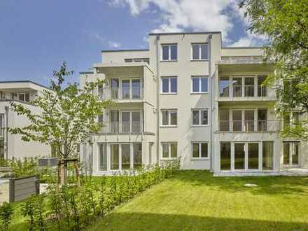Traumhafte 4-Raumwohnung mit Kamin | Bodenheizung | Einbauküche | 2 Bäder | Terrasse mit Garten