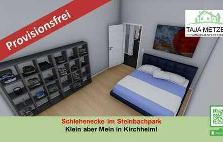 Schlehenecke im Steinbachpark Bezugsfertige 2 Zimmer Eigentumswohnung und Terrasse in Kirchheim