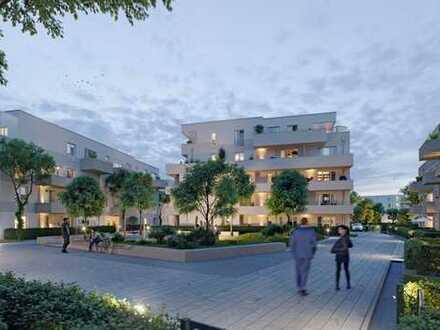 2-Zimmer Erdgeschosswohnung mit Terrasse und eigenem Gartenanteil