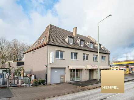 Wohnen, arbeiten, vermieten - Wohnhaus mit großer Gewerbeeinheit im Duisburger Süden
