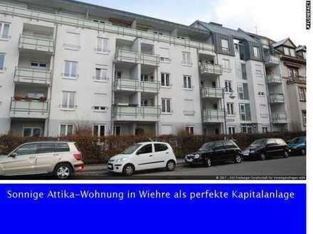 Attika, Top Kapitalanlage Freiburg-Wiehre, EBK, Dachterasse