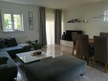 Schöne zentrumsnahe 2-Zimmer-EG-Wohnung mit Terrasse in Schwetzingen