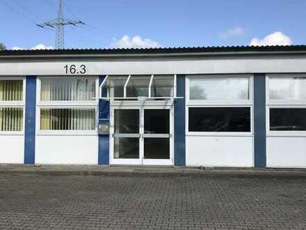Helle Büroflächen im Industriegebiet Lüneburg-Goseburg im EG