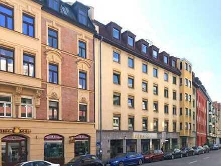 2-Zi.-Whg., teilbar in 2 Appartments, in Top-Lage mitten im Gärtnerplatzviertel
