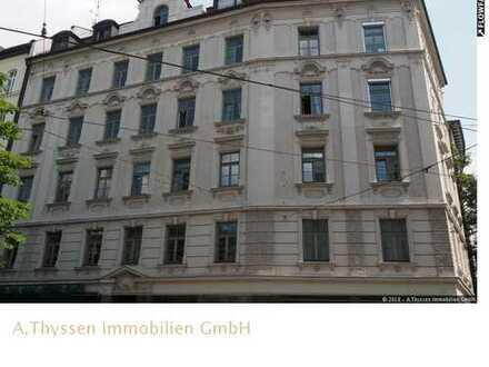 Bestes Haidhausen - Max-Weber-Platz - Hübsche Bürofläche im neubarocken Eckgebäude