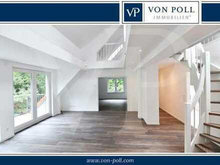 Exklusives Studio im Dachgeschoss - 4 Zimmer Wohnung