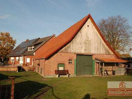 Resthof mit großem Grundstück, ideal für Pferdeliebhaber und Hobbybauern