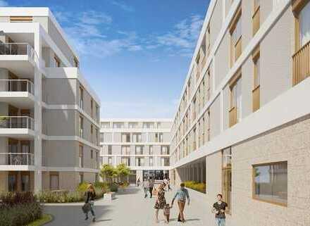 Schicke 3-Zimmer-ETW mit Loggia im Hatz-Areal - Das Tor zur Innenstadt