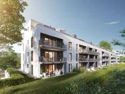 Eigentumswohnung mit geräumiger Terrasse und Garten in ruhiger Lage - Wohnung 1