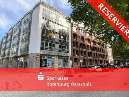 Erstklassige Lage mit Weserblick! 2 Wohnungen/Büros direkt an der Schlachte!