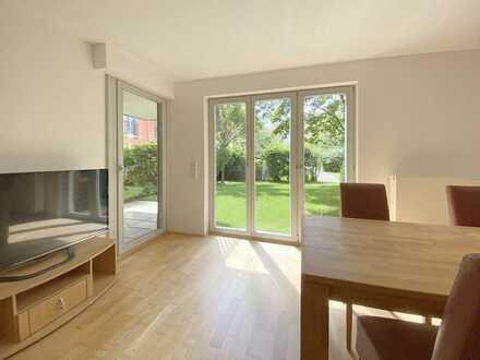 Familiengerechte 3-Zimmer Wohnung mit 75 m² großem Garten