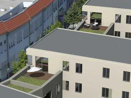Großzügige 3-Raum Wohnung mit Dachterrasse