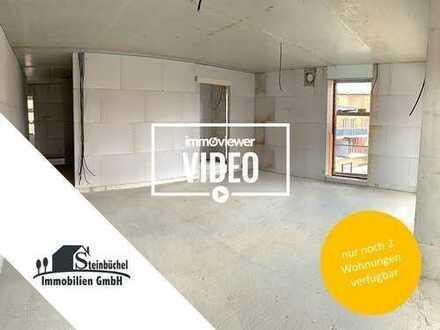 Neubau-Erstbezug: Helle 4-Zimmer-Wohnung mit Balkon im 1. Obergeschoss!!!