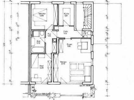 3-Zimmer-Wohnung mit Süd-Balkon in Ramersdorf