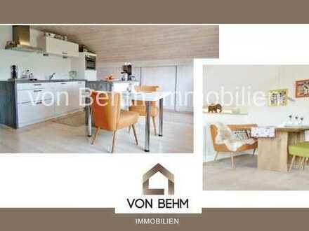von Behm Immobilien - DG-Wohnung mit Garage in Hepberg