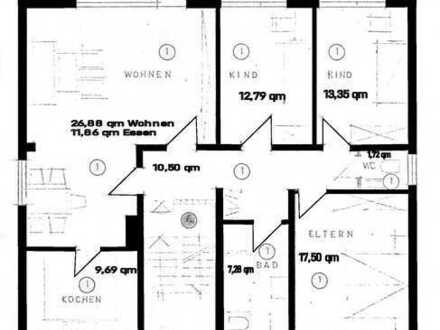 Ansprechende 4-Zimmer-Erdgeschosswohnung mit Balkon und EBK in Dieburg