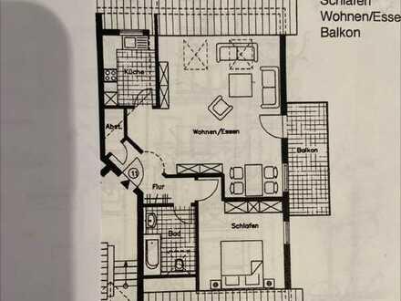 Modernisierte 2-Zimmer-Wohnung mit Balkon in Heidelberg - Kirchheim