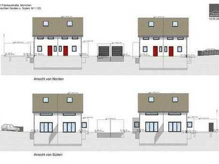 Feldmoching, das Dorf in der Stadt! Moderne DHH - Neubau, in schöner ruhiger Stadtrandlage, Haus 3