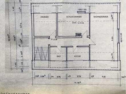 Erstbezug nach Sanierung: ansprechende 3-Zimmer-DG-Wohnung in Hannover Döhrennover