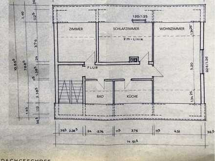 820 €, 82 m², 3 Zimmer