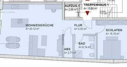 Neubau, hochwertige Eigentumswohnung(Nr.10), ca.75,98 m² in Bad Kötzting-zentrale und ruhige Lage -
